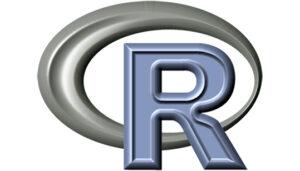 R programming language logo