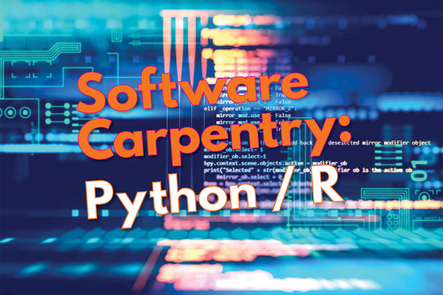 <span>Events</span>2-day Python and R Software Carpentry Courses Offered