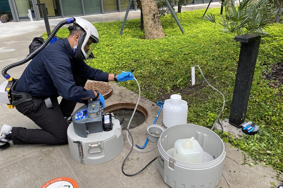 <span>Covid-19, Fall 2021</span>IDSC Advances COVID-19 South Florida RADx Wastewater Monitoring Project