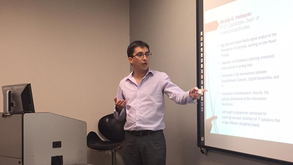 IDSC Fellows Program 2016-2017 Nicolas Velasquez
